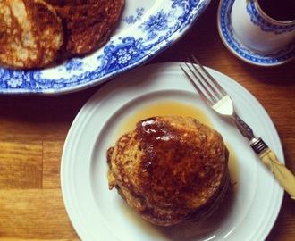 Roasted Pumpkin Pancakes