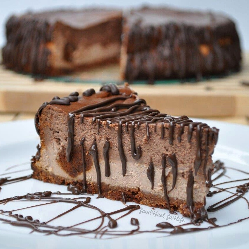 Quest Chocolate Peanut Butter Cheesecake
