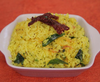 Lemon Rice in Marathi: South Indian Style Recipe
