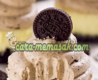 Chocolate Mousse Mini Oreo Cheesecakes tuntuk Dessert