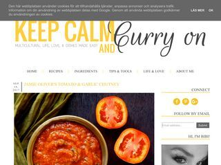Keep Calm & Curry On