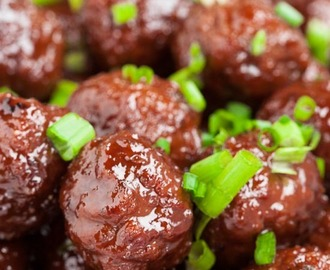 3-Ingredient Slow Cooker Meatballs