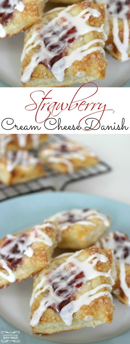 Strawberry Cream Cheese Danish Recipe!