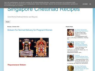 Singapore Chettinad Recipes