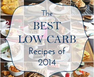 The Best Low Carb Recipes of 2014