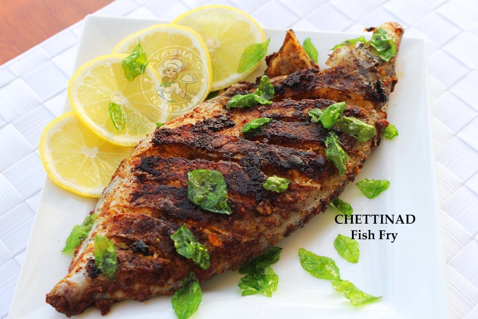 FISH FRY RECIPE - CHETTINAD FISH FRY