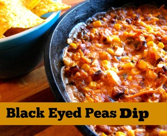 Black Eyed Peas Dip For New Year's Day
