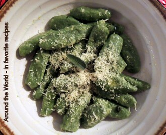 Ricotta Spinach and Semolina Gnocchi with Butter-Sage Sauce