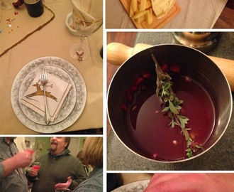 ENTERTAINING: New Year's Eve Fondue Night, with oysters and crab legs (menu, recipes and how-to's)