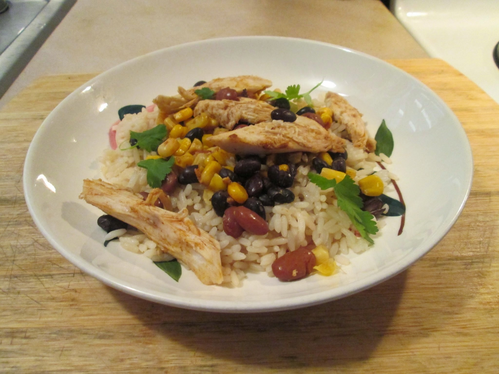 Leftovers Bush's One Pot Chicken, Rice & Beans