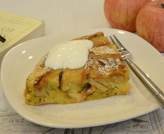 A German Apple Pancake – Morning Rituals and Victuals