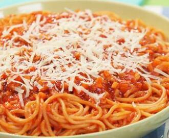 Chicken Carrot Spaghetti