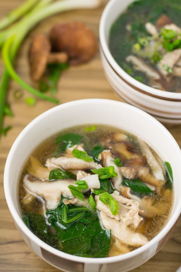 Chicken and Mushroom Soup