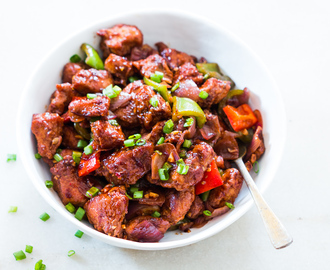 Easy Indo Chinese Chilli Chicken Dry