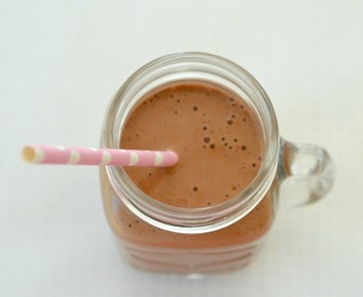 Thermomix Choc Banana Smoothie