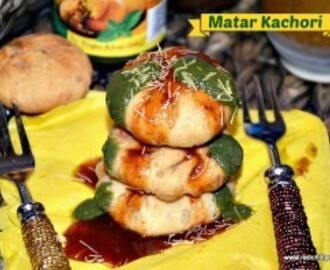 Matar Kachori Recipe | Peas Kachori recipe