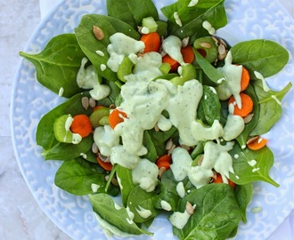 Healthy Homemade Avocado Ranch Dressing