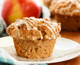 Apple Muffins with Crumb Topping