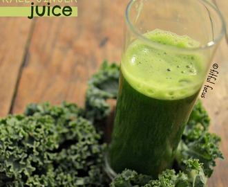 How to Make Juice in a Blender – Kale Ginger Juice
