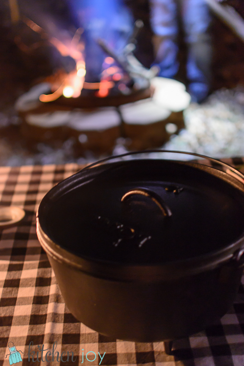 Campfire Chicken and Dumplings