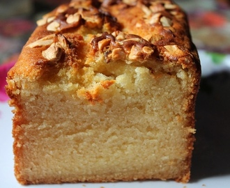 Eggless Pound Cake Recipe / Cashew Pound Cake Recipe