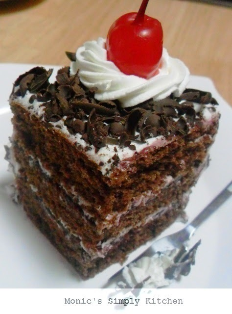 Resep Black Forest Cake Simple & Ekonomis