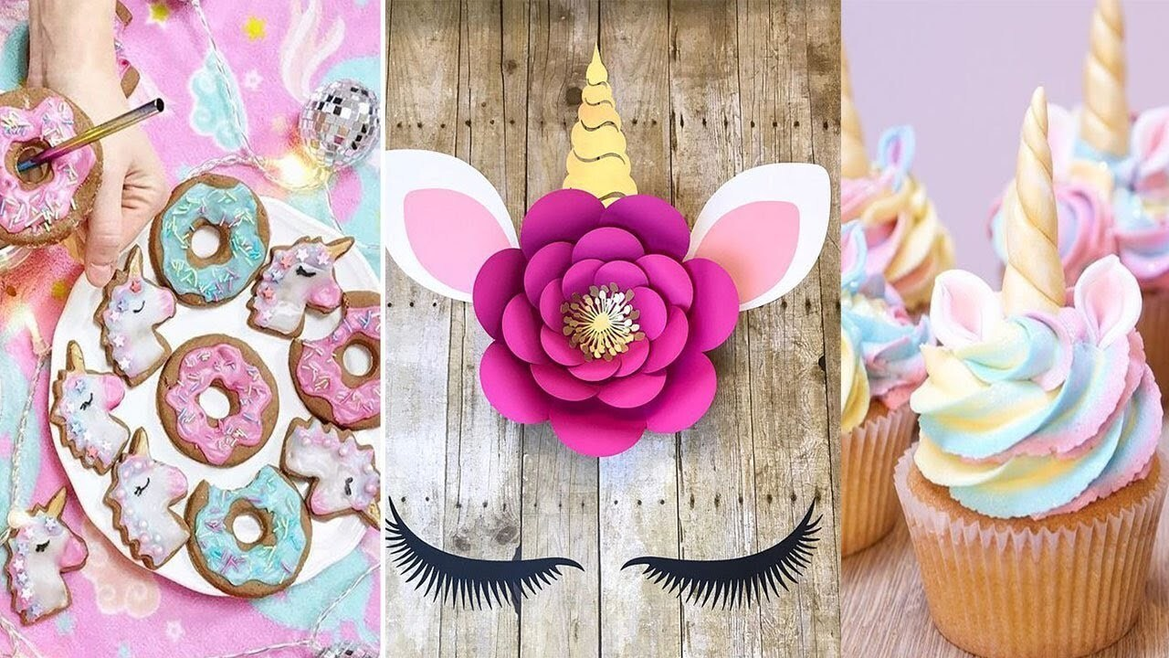 Cutest Decor ! DIY Unicorns Birthday Party Decoration Ideas