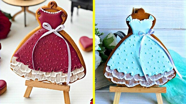 Yummy Cookies | Easy Cookies Decorating Ideas With Clother 2018