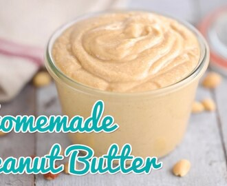 How to Make Homemade Peanut Butter - Gemma's Bold Baking Basics Ep 23
