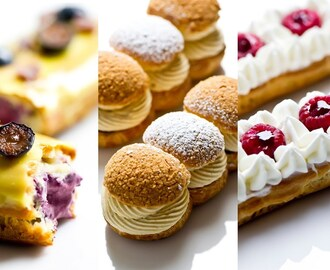 Eclairs and Choux Pastries from Choux Temptations, Hosted by Jialin Tian