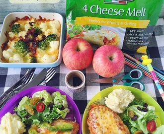 [5 Recipes] Back To School Lunch Ideas With Perfect Italiano 4 Cheese Melt
