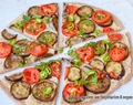 Eggplant Rosemary Pizza | Vegan recipe with photos