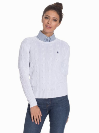 Polo Ralph Lauren Julianna-Classic-Long Sleeve-Sweater Tröjor