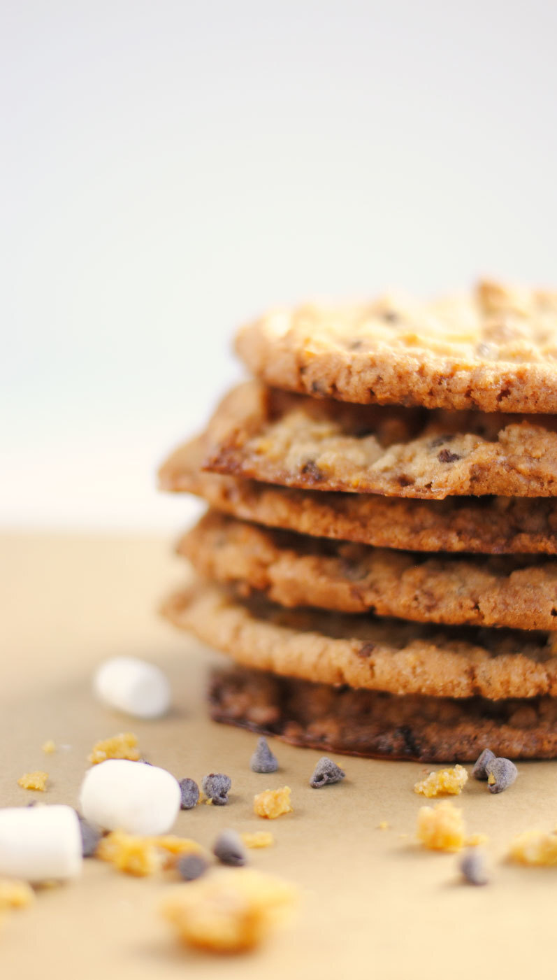 Cornflake, Marshmallow and Chocolate Chip Momofuku Milk Bar Cookies