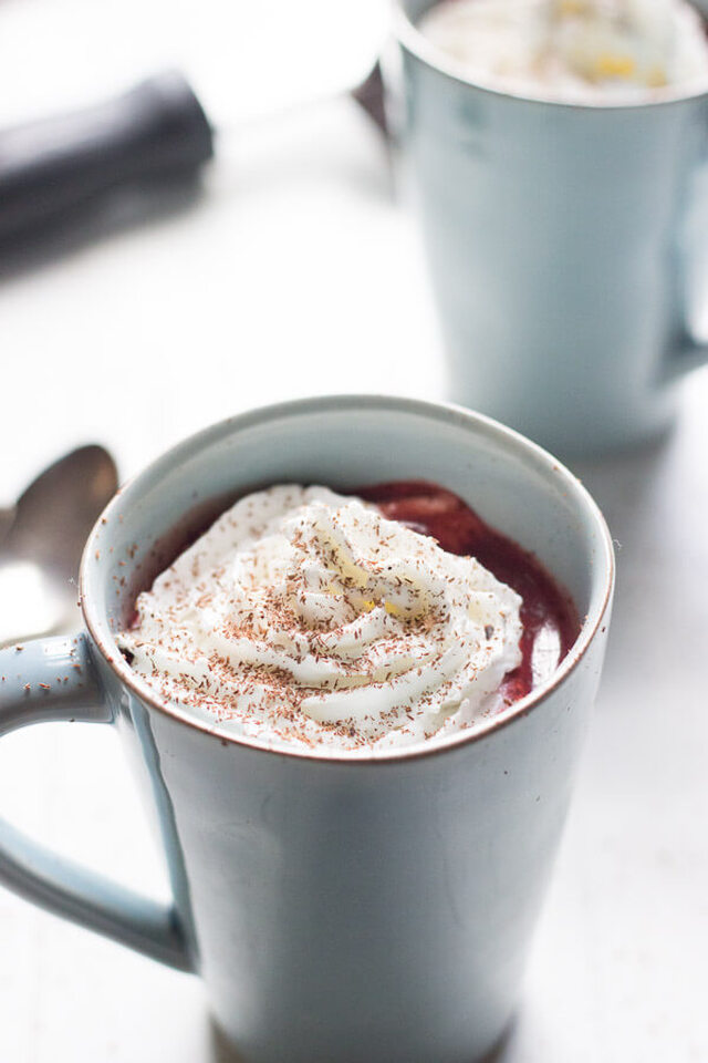 Red Velvet Chocolate Steamer