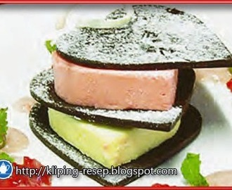 Resep Desserts,  RIGHT COMBINATION PARFAIT ala Chef Heru Supriatna