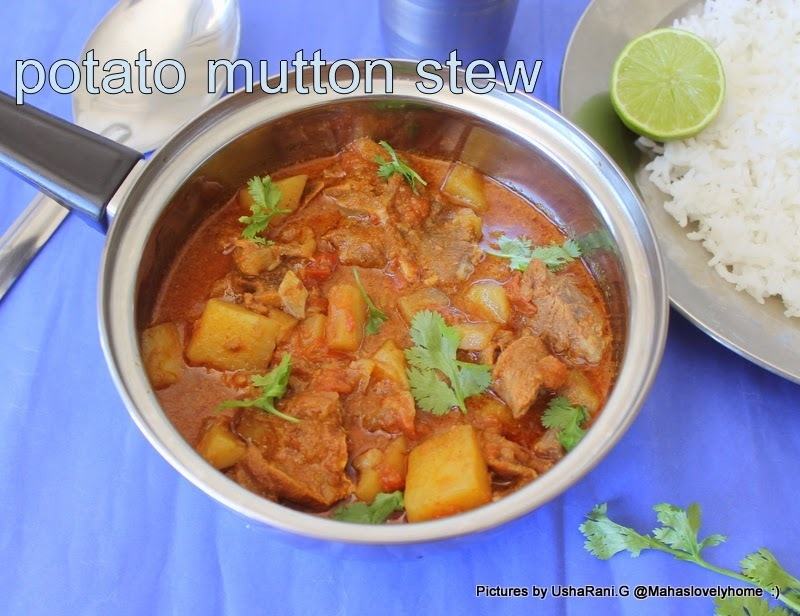 Mutton Potato Stew | Mutton Aloo Curry | Easy Mutton Curry Recipes | Lamb Meat Recipes