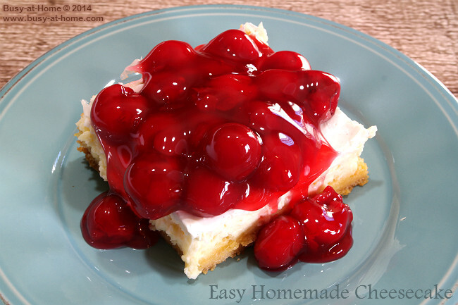 Easy, Delicious Cherry Cheesecake with a Delectably Unique Crust