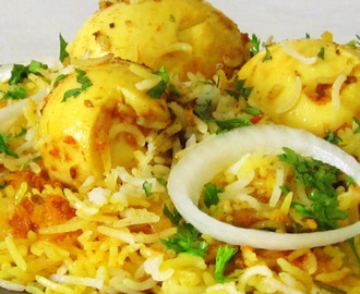 Mouth Watering Egg Briyani Recipes