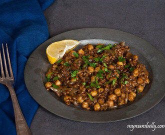 Vegetarian Wheat Berry Stew