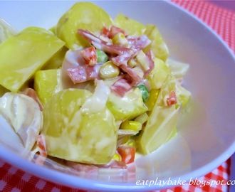 奶香火腿马铃薯 Creamy Potato with Ham