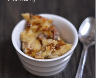 Butterscotch Bread Pudding | #SundaySupper
