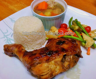 Nasi Ayam Lemon
