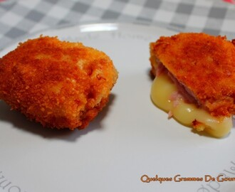 Mini cordon bleu express au Babybel