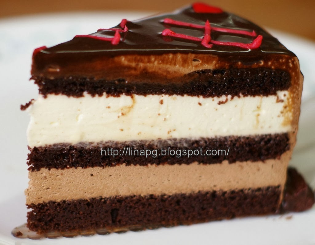 Indulgence Chocolate Cheese Moist Cake (ICCMC)