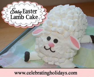 Easy Easter Lamb Cake and an Easter Playlist {Guest Post}