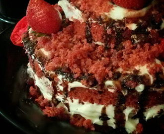 Choco Strawberry Cakec