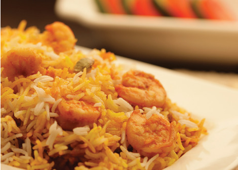 Prawn Biryani Cooking by Eva cooking oil