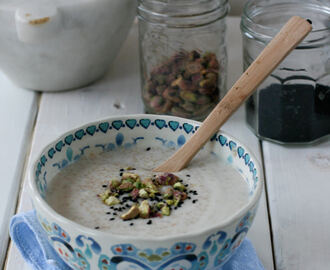 Cauliflower and amaranth creamy soup