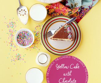 The Classics: Yellow Cake with Chocolate Buttercream
